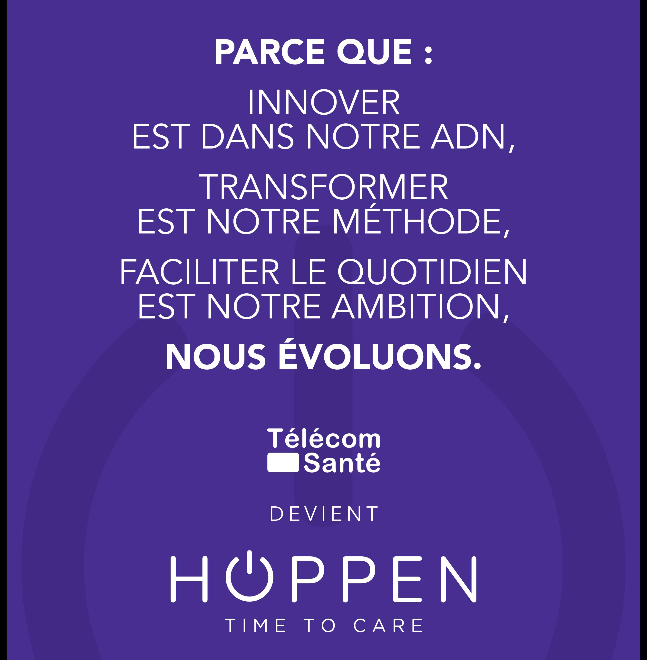 Télécom Santé devient Hoppen – Time to Care !