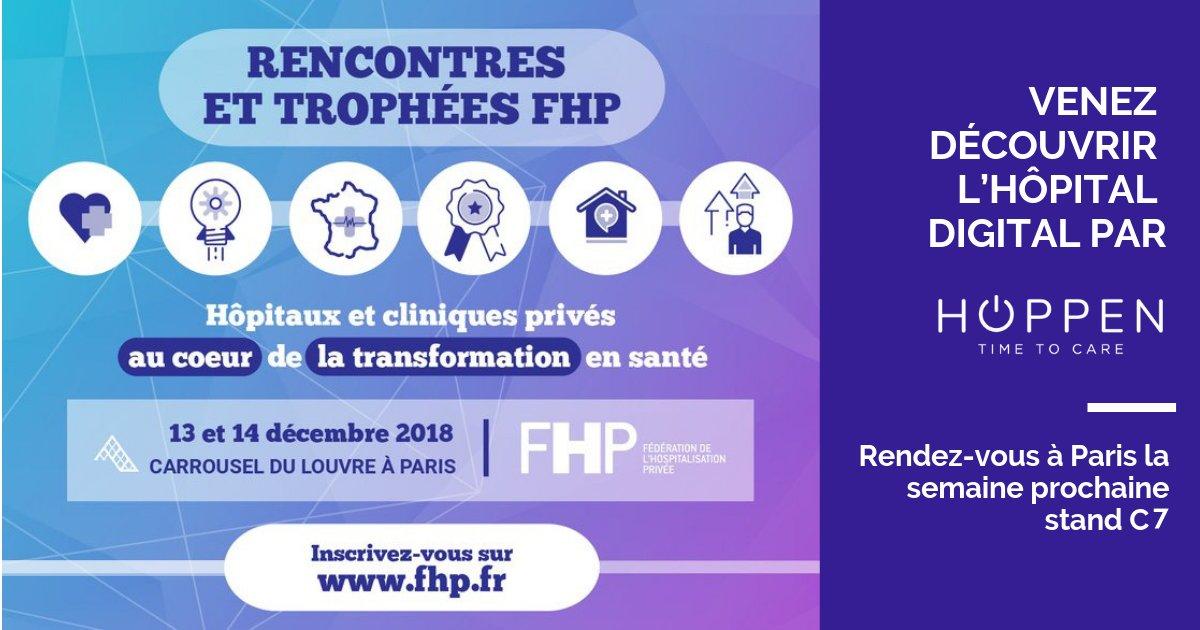 HOPPEN présente son Hôpital Digital aux Rencontres Nationales FHP les 13 et 14 décembre