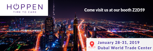 HOPPEN is looking forward to seeing you at Arab Health!