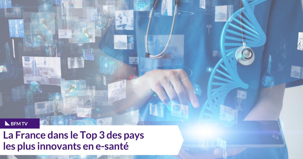 parmi les trois pays les plus innovants dans le domaine de la e-santé
