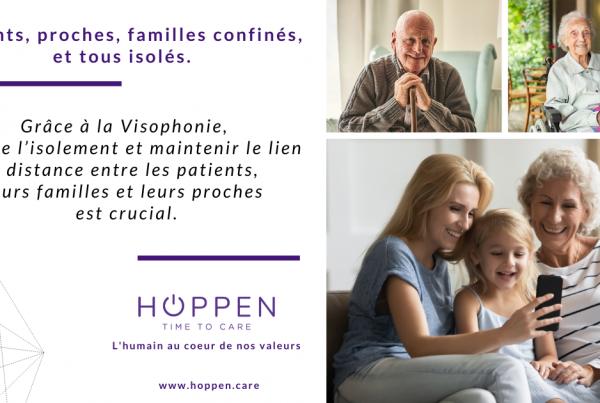 La Chambre Connectée HOPPEN pour maintenir le lien à distance avec les proches