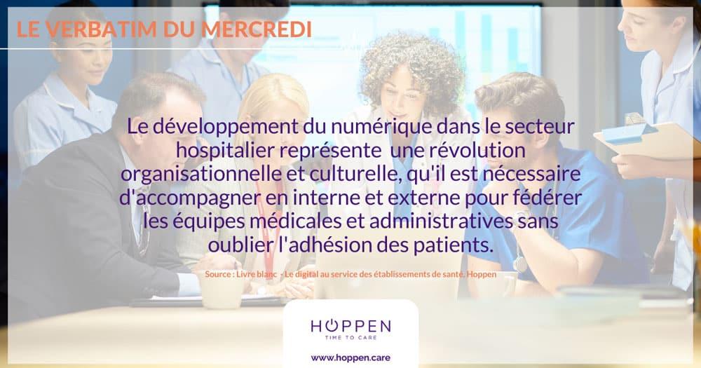 transformation digital établissements santé