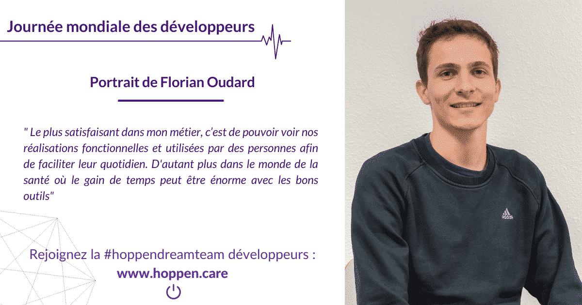 Portrait développeur Florian Oudard