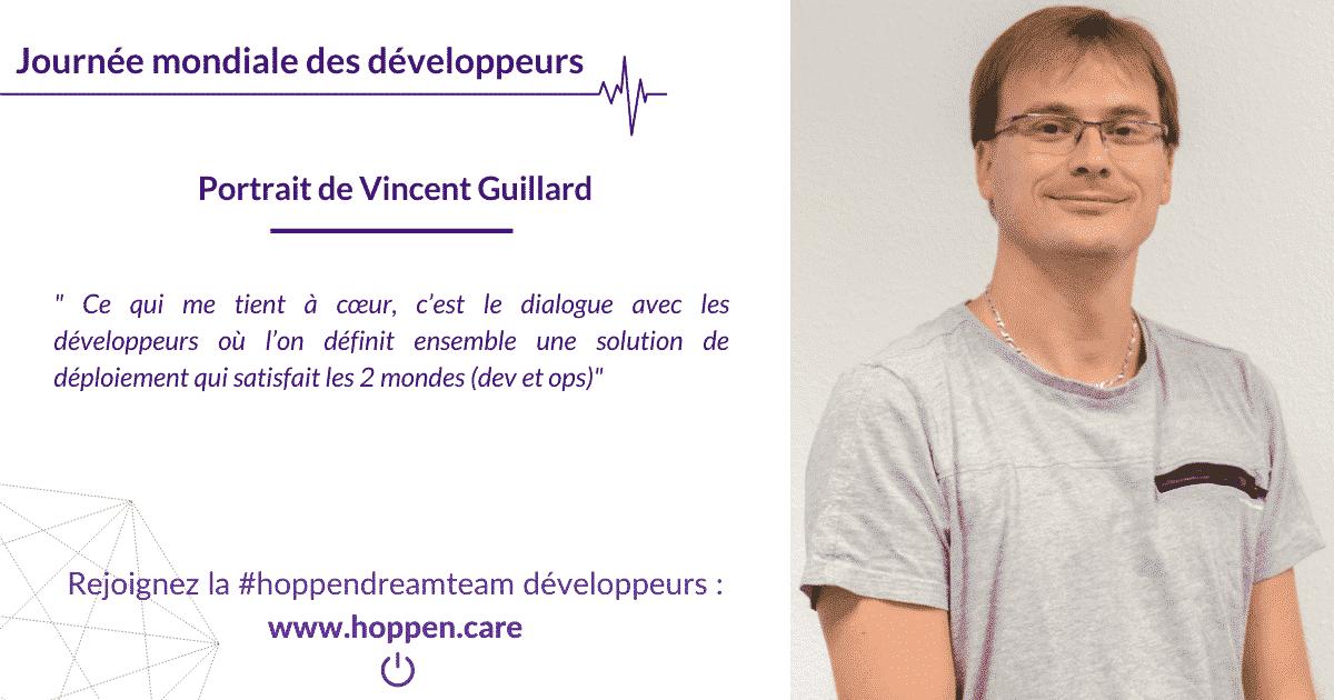 Portrait développeur Vincent Guillard
