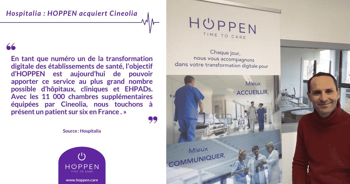 Cineolia rejoint HOPPEN - Hospitalia
