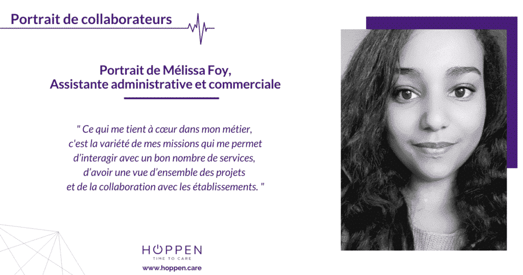 portrait collaborateur Melissa HOPPEN