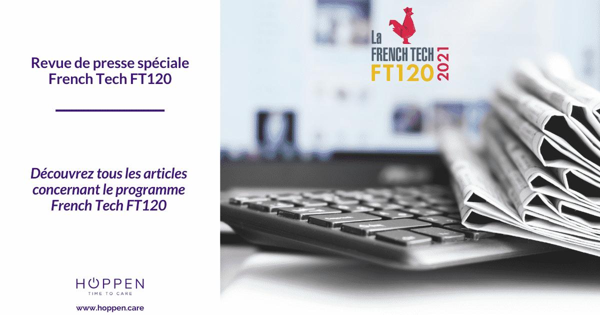 Revue de presse French Tech FT120 HOPPEN