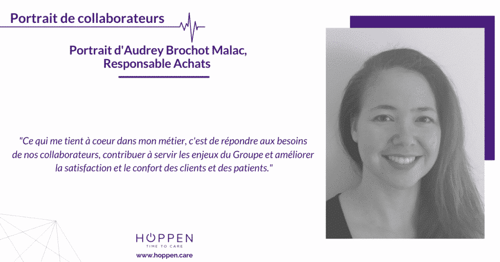 portrait collaborateur Audrey HOPPEN