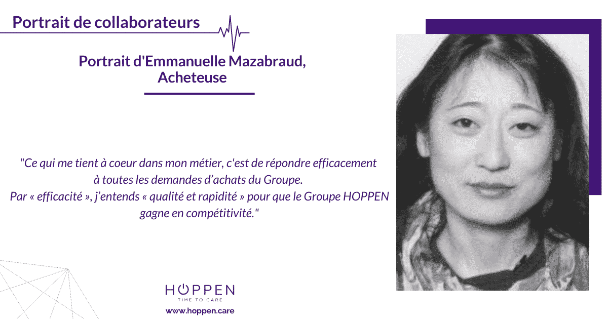 portrait collaborateur Emmanuelle HOPPEN