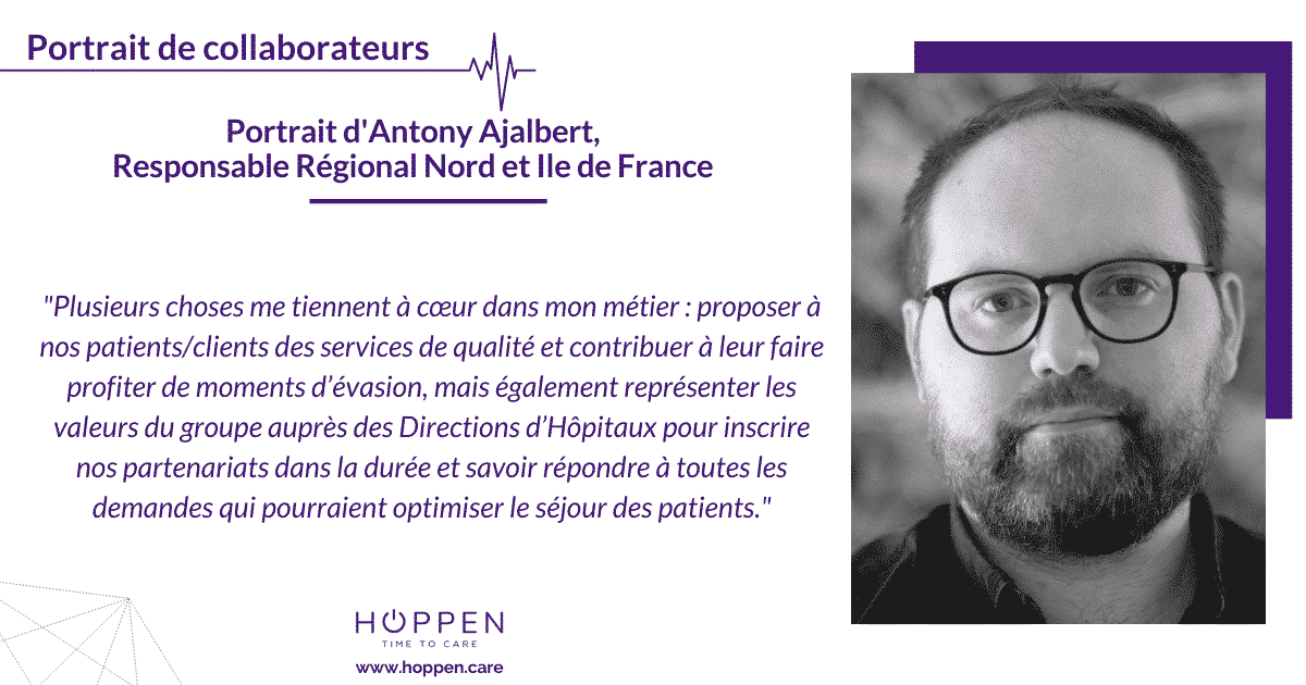 Portrait collaborateur Antony Hoppen