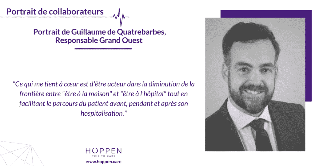 portrait collaborateur guillaume Hoppen