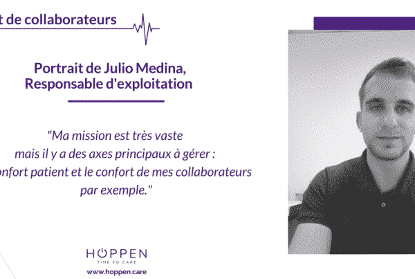 portrait collaborateur Julio Hoppen