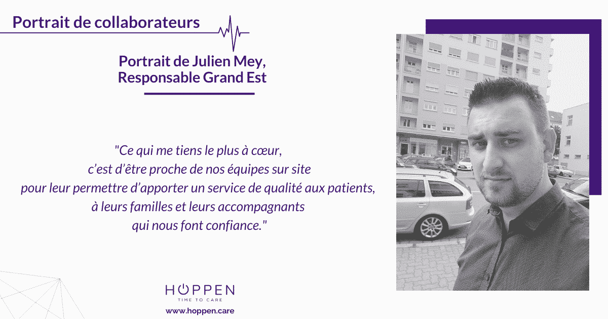portrait collaborateur Julien HOPPEN