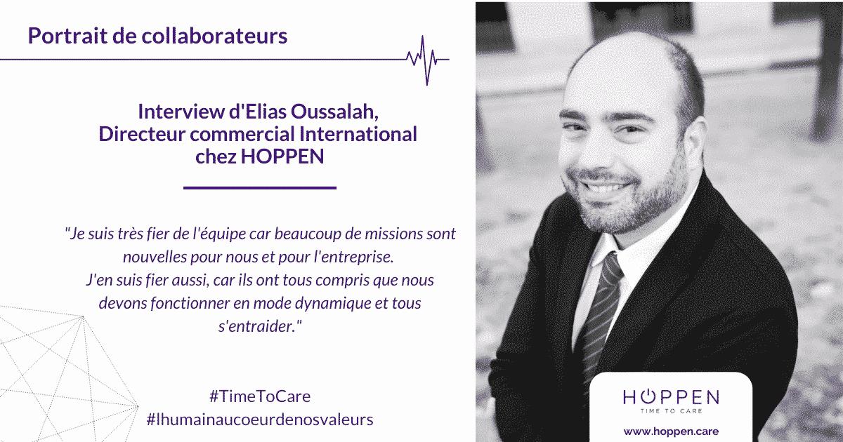 Portrait collaborateur Elias HOPPEN