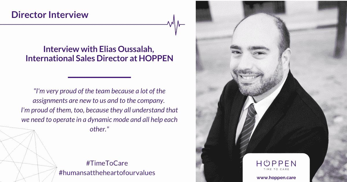 director interview Elias HOPPEN